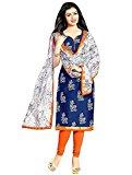 Globalia Creation Women'S Cotton Suit Piece Salwar Suit Set (Gol-15_Red_Free Size)