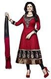 Globalia Creation Women's Cotton Salwar Suit Set (GOL-034E112_Beige_Free Size)