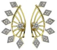 Jewels Galaxy Interchangeable ADR54 Alloy Cuff Earring
