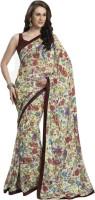 Bhavi Printed Fashion Chiffon Saree(Multicolor)