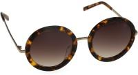 Mango Pickles RO-5006-Demi Round Sunglasses(Brown)