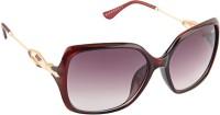 Farenheit 1821 Oval Sunglasses(Grey)