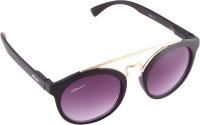 Amaze 1601 Round Sunglasses(Black)