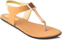 Myra Women Tan Flats